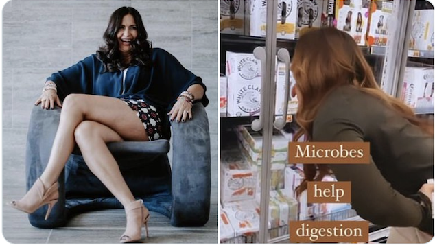 Jodie Meschuk anti-vaxx mom supermarket licking