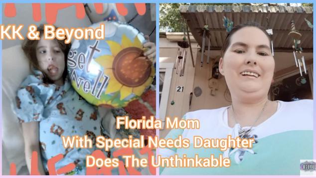 Florida mom kills special needs daughter Pensacola