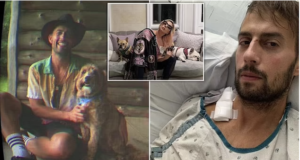 Ryan Fischer Lady Gaga dog walker GoFundme