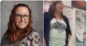 Leah Kinyon Lehi Utah high school teacher fired