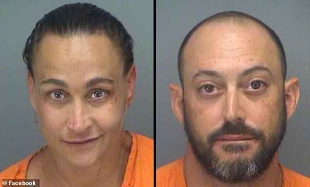 Florida couple arrested shoving spaghetti in each others faces