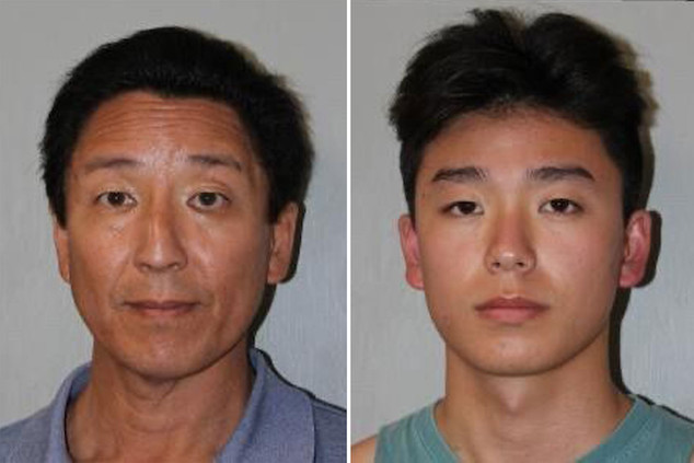 Trevor and Norbert Chung California father & son arrested using fake COVID-19 vaccine cards