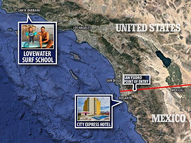 Santa Barbara surf school owner stabs his 2 children to death