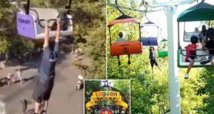 32 year old man dies falling off Utah amusement park ride Lagoon Sky ride