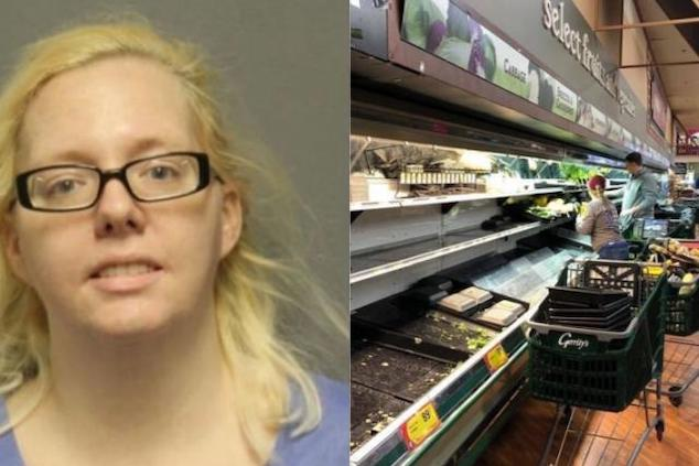 Woman coughs on $35K food sentenced