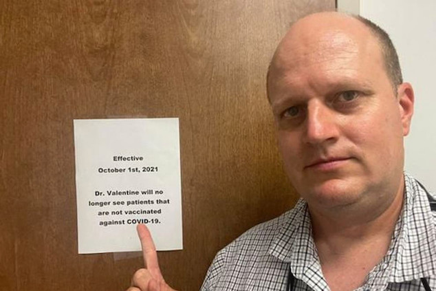 Alabama doctor refuses to treat unvaccinated patients
