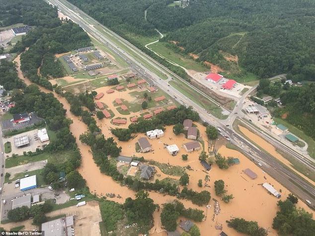 Nashville Tennessee flash flooding