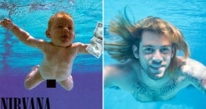 Nevermind baby suing Nirvana album cover