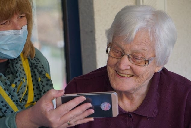 Making your grandparents feel happier and more included