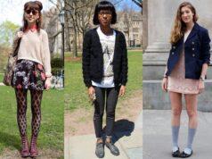 college fashion style
