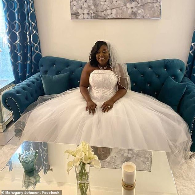 Zenada Williams Louisiana newly married bride