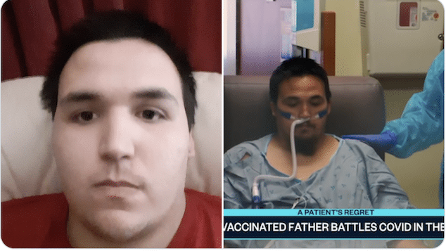 24 year old unvaccinated dad died of COVID-19