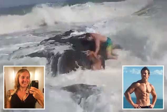 Fitness coach drowns in front of wife