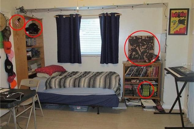 Brian Laundrie bedroom