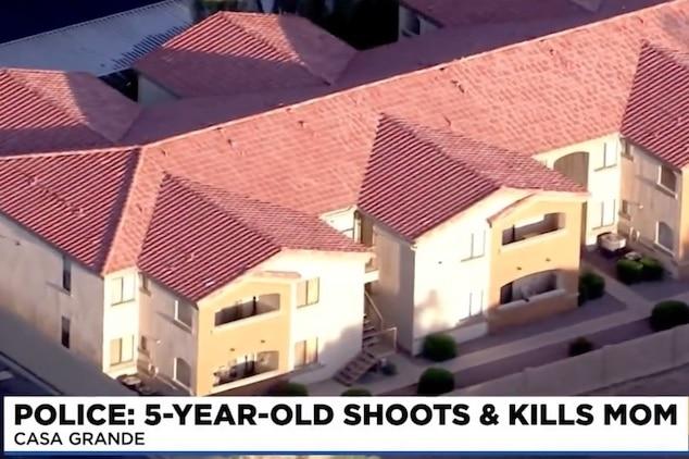 Michelle Cox Casa Grande Arizona mom accidentally shot dead by 5 year old son