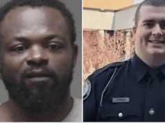 Damien Anthony Ferguson Georgia man arrested in fatal shooting of Alamo Police Officer Dylan Harrison