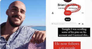 Brian Laundrie Pinterest activity