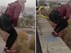 Kazakhistan woman falls 80ft to her death in botched bungee jump in Karaganda